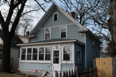 "Former home of ""Dapper Dan"" Hogan at 1607 West 7th Street in St Paul"