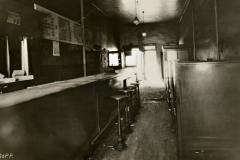 Inside the Green Lantern, the city's most notorious Prohibition-era speakeasy. (MHS)