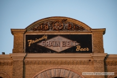 Grain Belt sign atop the brew house in Northeast Minneapolis