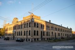 Grain Belt brewery warehouse in Northeast Minneapolis