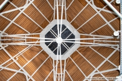 Roof of the cupola looking up form the sixth floor of the Grain Belt brew house