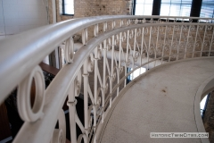 Original iron work in the Grain Belt brew house