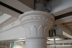 Original iron work in the Grain Belt brew house