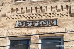 Sign on the Grain Belt Brewery Office in Northeast Minneapolis