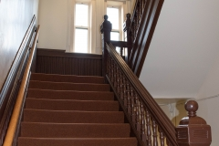 Stairway in Old Main Hall at Hamline University