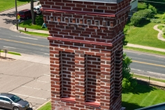 One of the eleven chimneys atop the Historic Washington County Courthouse - Stillwater, MN