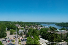View facing north from the dome of the Historic Washington County Courthouse - Stillwater, MN