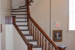 Stairway leading to the attic of the Historic Washington County Courthouse - Stillwater, MN