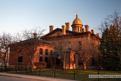 North side of the Historic Washington County Courthouse - Stillwater, MN