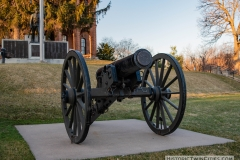 Cannon on the front lawn of the Historic Washington County Courthouse - Stillwater, MN