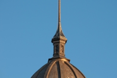 Dome and cupola atop the Historic Washington County Courthouse - Stillwater, MN