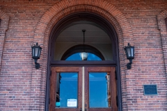 Main entrance of the Historic Washington County Courthouse - Stillwater, MN