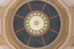 Dome of the rotunda in the old Dakota County Courthouse