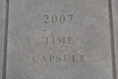 A time capsule was buried in the front steps of the old Dakota County Courthouse in 2007