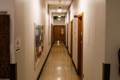 First floor hallway in Pillsbury Hall - University of Minnesota