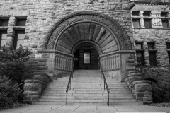 Northeast entrance to Pillsbury Hall - University of Minnesota