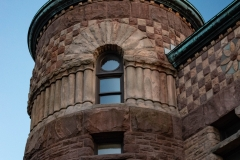 Turret on the north side of Pillsbury Hall - University of Minnesota