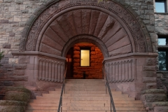 Northwest entrance to Pillsbury Hall - University of Minnesota