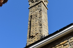 Chimney on the Historic Church of St. Peter in Mendota