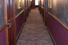 Second floor hallway of the Stockyards Exchange Building - South St. Paul