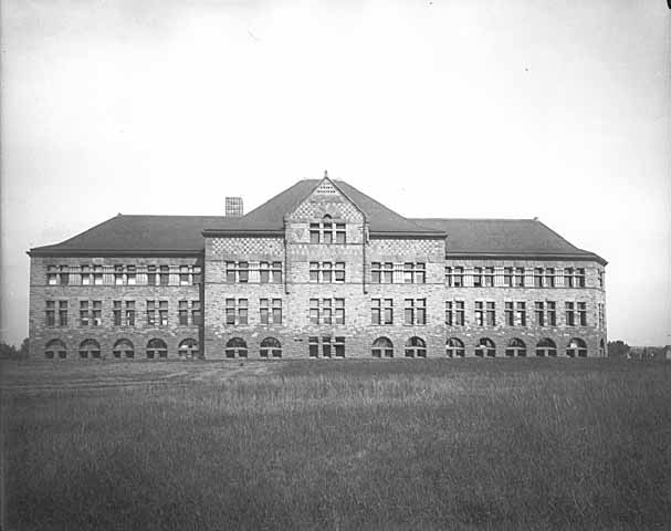South side of Pillsbury Hall circa 1890s (MHS)