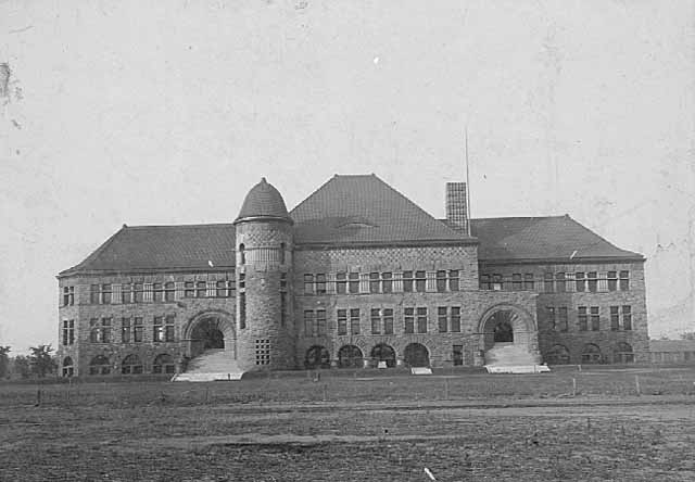 North Side of Pillsbury Hall circa 1890s (MHS)