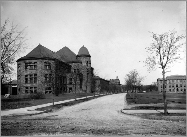 Pillsbury Hall circa 1900 (MHS)
