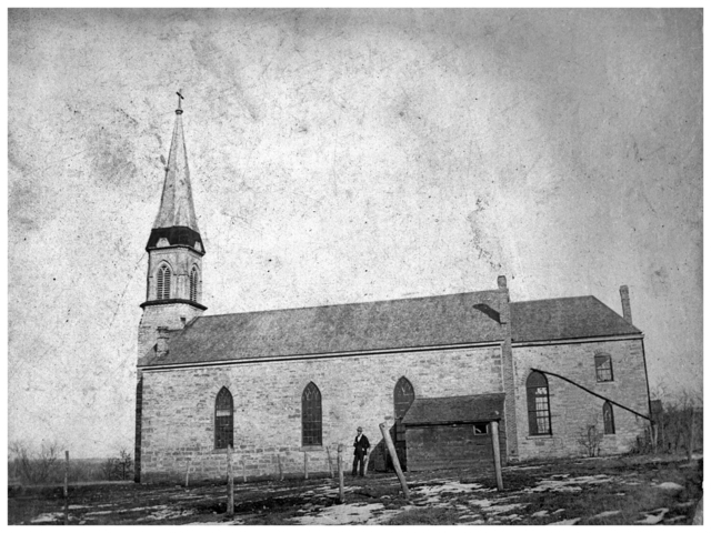 Church of St. Peter circa 1885
