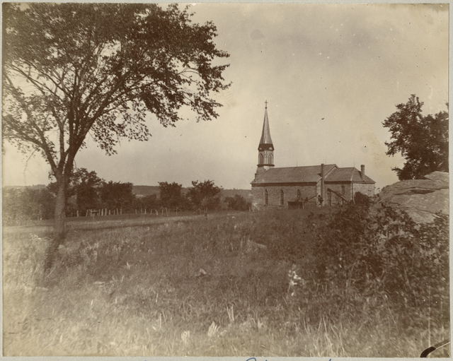 Church of St. Peter circa 1890