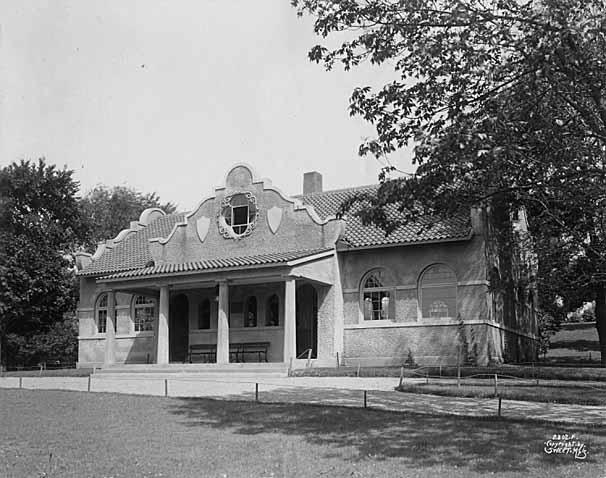 Loring Park Pavilion, Minneapolis circa 1905 (MHS)