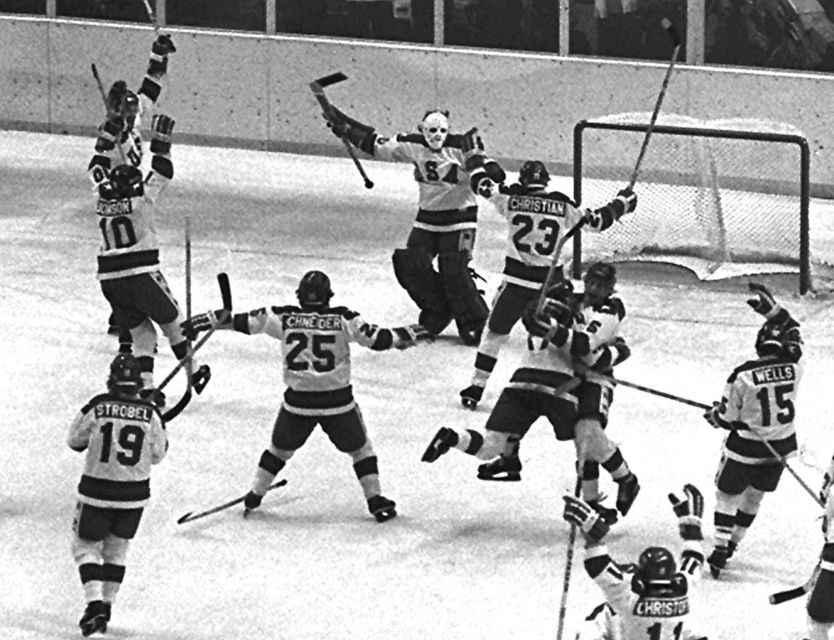 Miracle on Ice Team -February 22, 1980