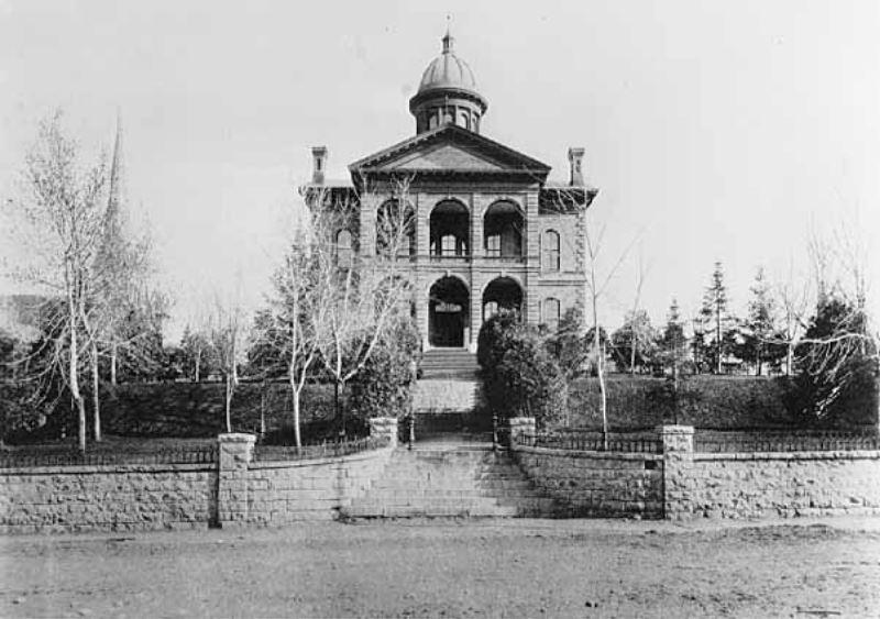 Washington County Courthouse circa 1885 (MHS)