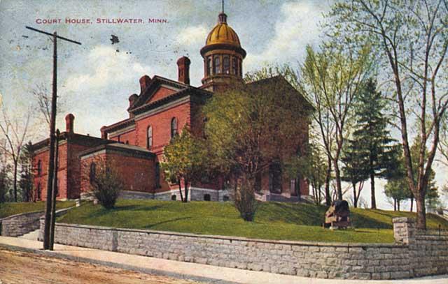 Washington County Courthouse circa 1911 (MHS)