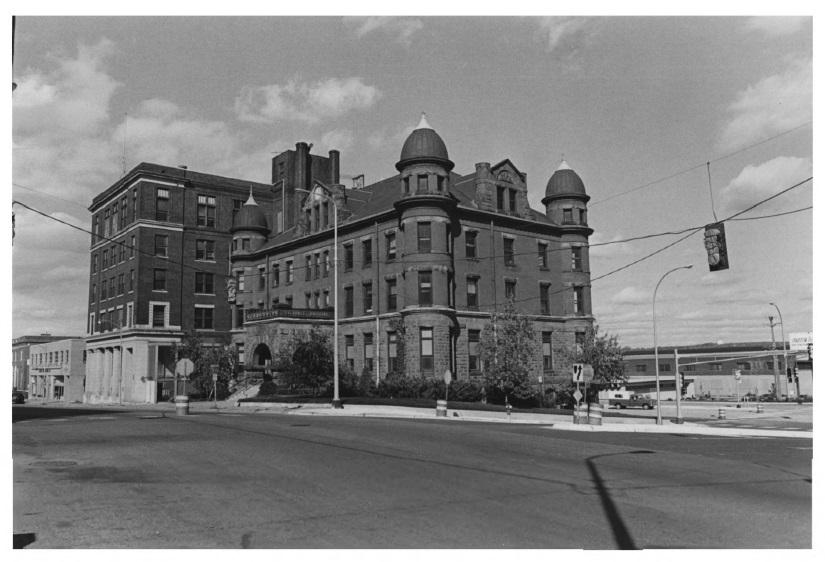 Stockyards Exchange Building circa 1978 (MNHS)