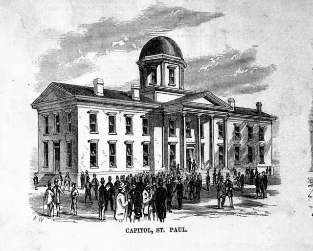First Minnesota State Capitol (1853-1872)